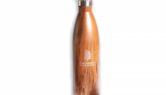 The Source Stainless Steel Water Bottle 500ml image
