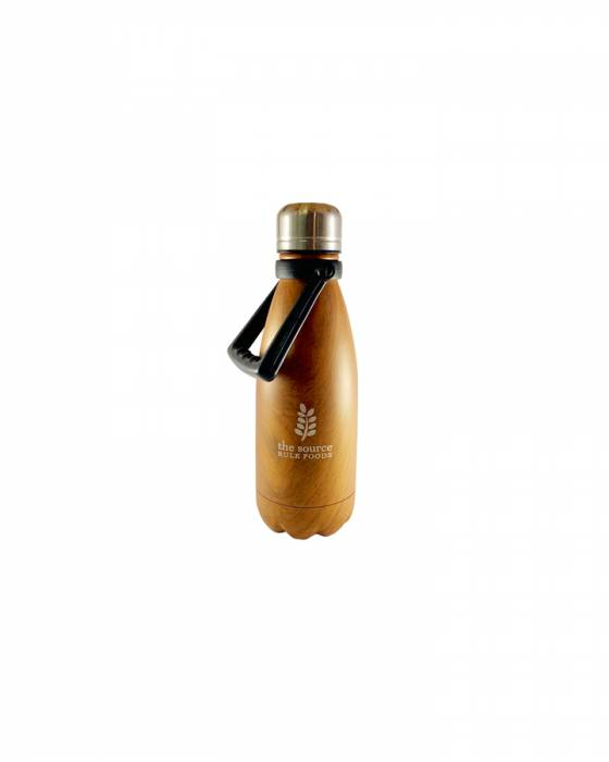 The Source Stainless Steel Water Bottle 350ml with handle image