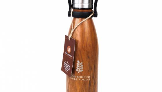 The Source Stainless Steel Water Bottle 500ml with handle image
