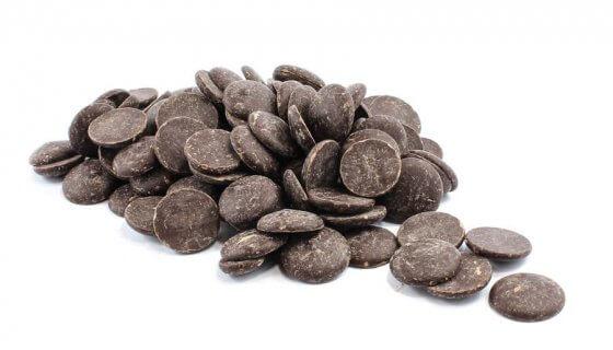 Organic Dark Chocolate Buttons image