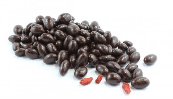 Dark Chocolate Covered Goji Berries image