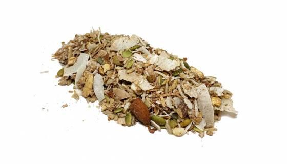 Organic Paleo Apple and Cinnamon Muesli image