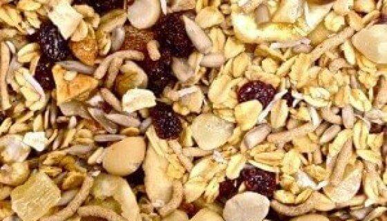 Toasted Macadamia & Cranberry Granola image