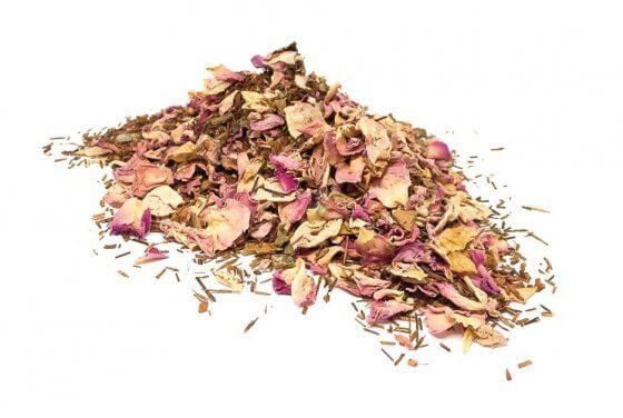 Organic Rooibos Tea with Rose image