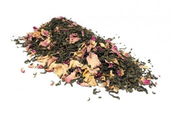 Organic Jasmine Green Tea with Rose image