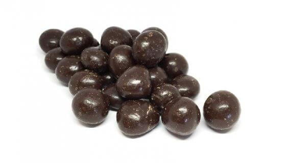 Dark Chocolate Strawberries image