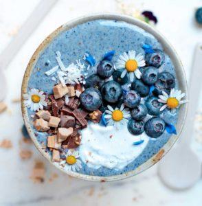 Blue Spirulina Unicorn Smoothie Bowl The Source Bulk Foods
