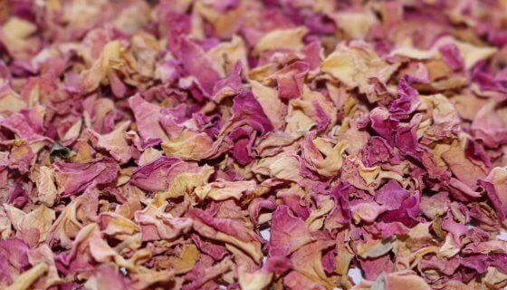 Organic Rose Petals Pink image