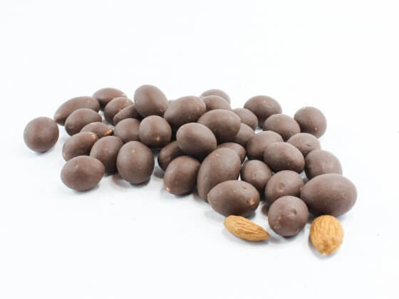 Organic Almonds in Mylk and Cashew Caramel Chocolate image