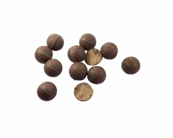 Organic Nutty Caramel Filled Mylk Truffles image