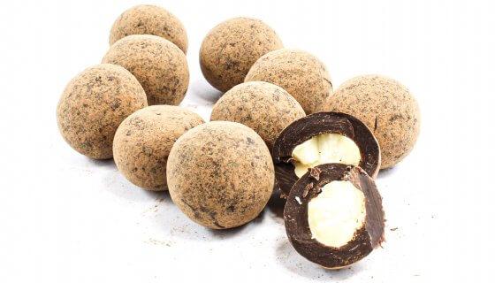 Orange Dusted Chocolate Macadamias image