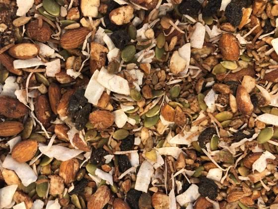 Paleo Cherry and Cacao Muesli image