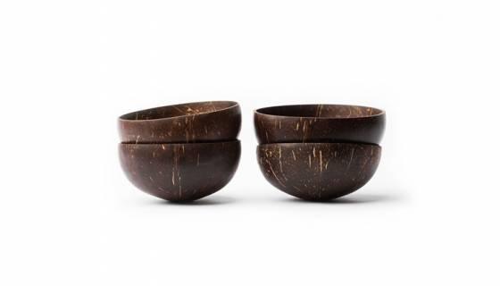 Coconut Bowl Set of 4 image