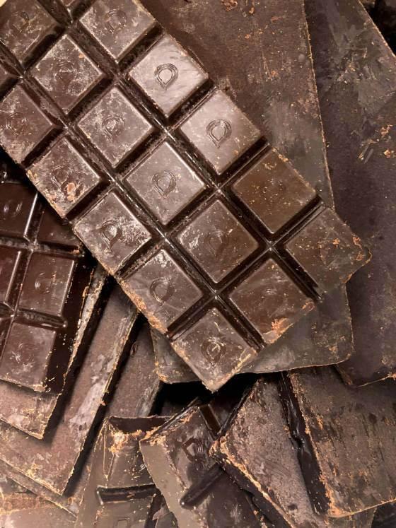 Organic Dark Espresso Truffle Chocolate image