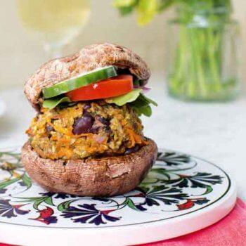 Easy Dinners Black Bean Burger Recipe