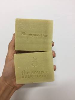The Source Healthy Locks Rosemary and Nettle Shampoo Bar image