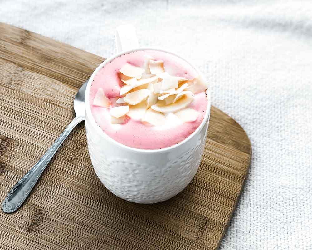Coconut Velvet Latte Recipe