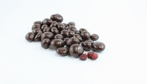 Dark Chocolate Freeze Dried Raspberries image