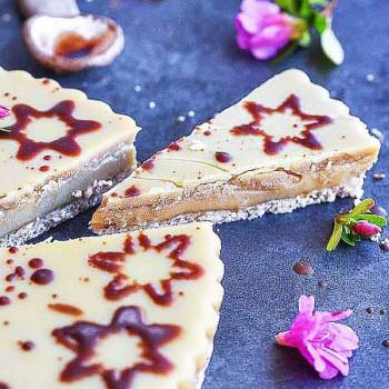 Vegan Butterscotch Slice by Rawspirations
