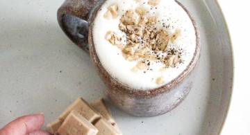 White Mylk Hot Chocolate