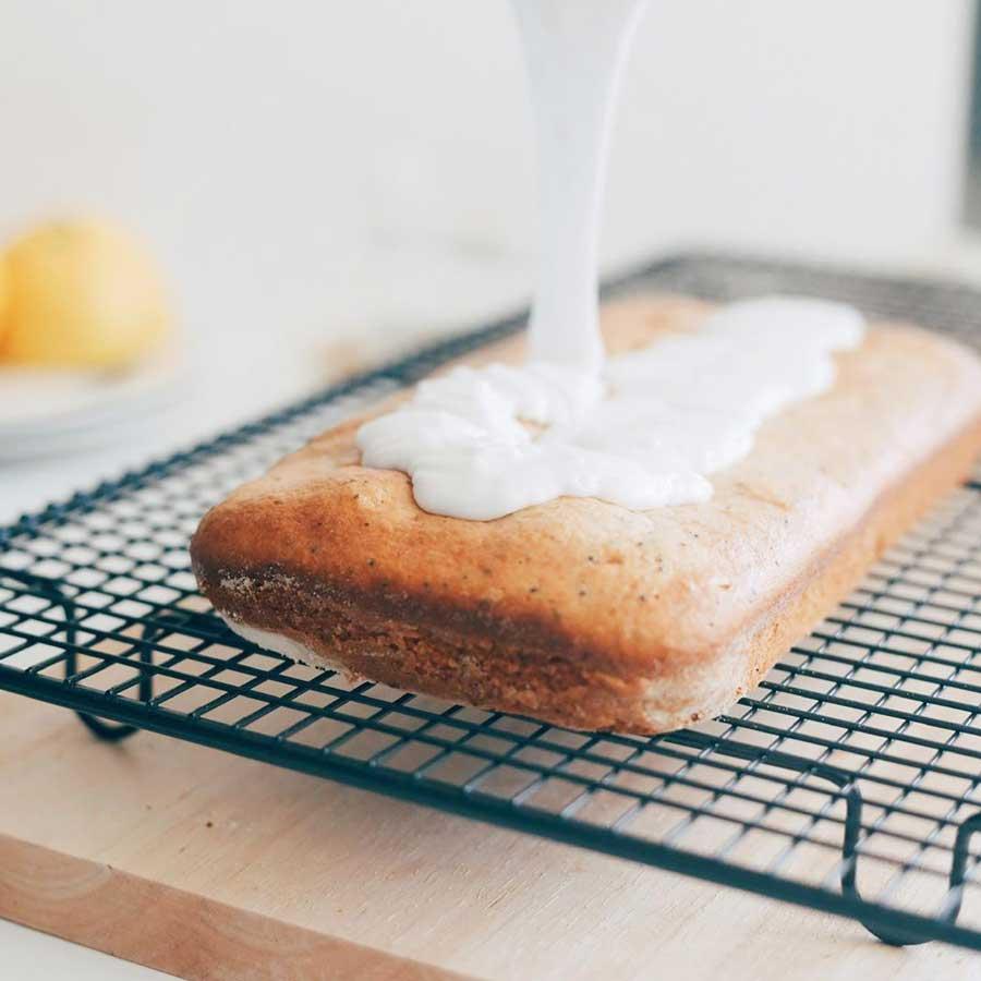 Lemon Poppy Seed Cake recipe by Bakeateasy