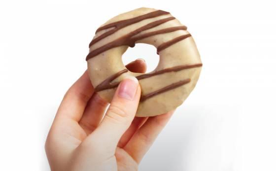 Raw Salted Caramel Donut image