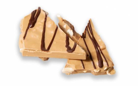 Salted Caramel Peanut Slab image