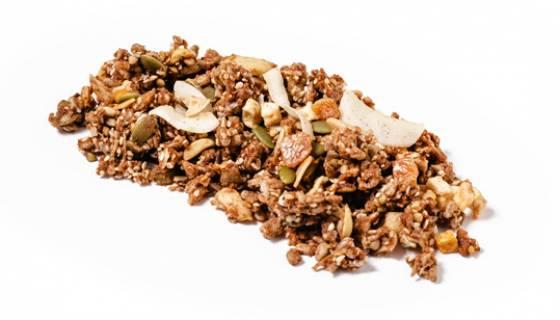 Apple and Buckwheat Grain Free Granola image