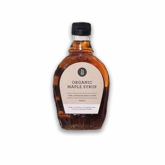 Organic Maple Syrup 250ml Bottle image